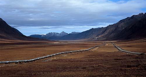 Pipeline in Alaska.
