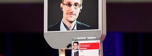 Der Whistleblower Edward Snowden.