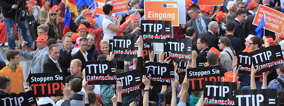 TTIP Flashmob am 17.