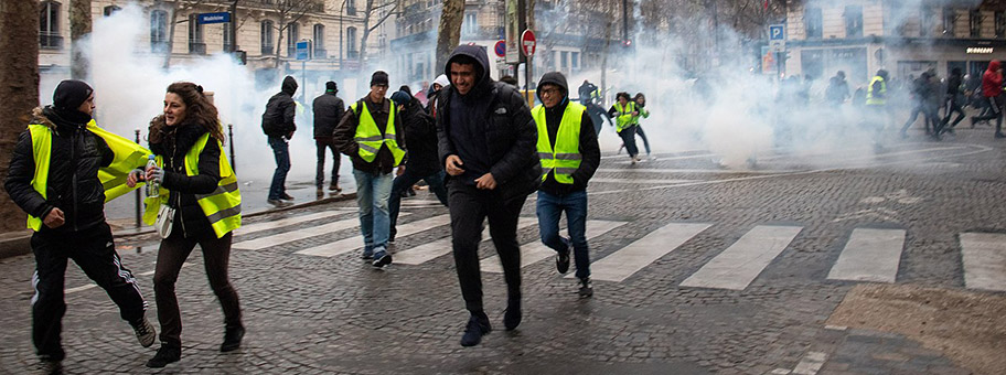 Proteste der Gilets Jaunes in Paris, 8.