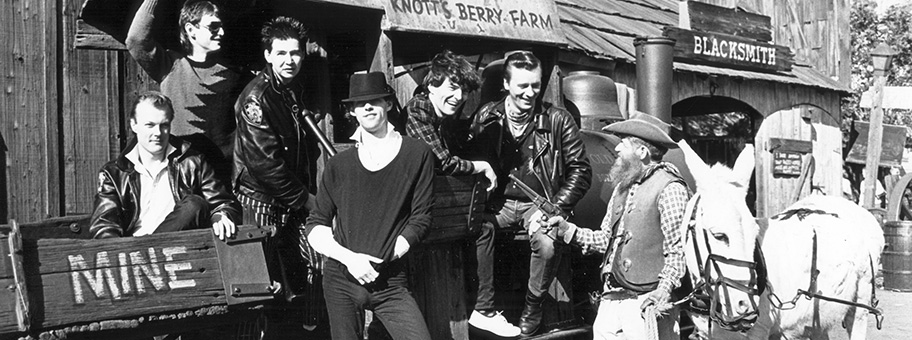 The Boomtown Rats at Knott's Berry Farm, 1981.