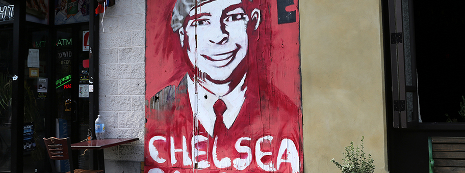 Chelsea ManningMural in New York City.