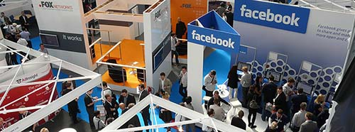 FacebookStand an der ad:tech 2010 in London.