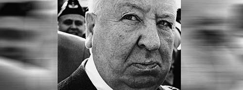 Alfred Hitchcock auf Besuch in Helsinki, Finnland, 1968.