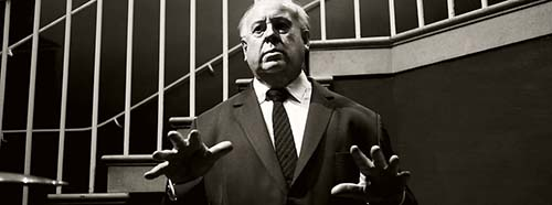 Alfred Hitchcock (Madame Tussauds London).
