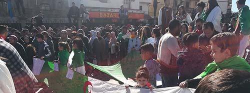 Proteste in Algerien, März 2019.