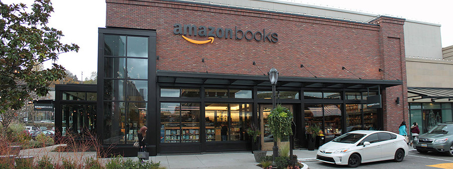 Buchladen von Amazon in Seattle, USA.
