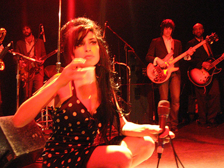 Amy Winehouse, März 2007 im Bowery Ballroom 18 in New York.