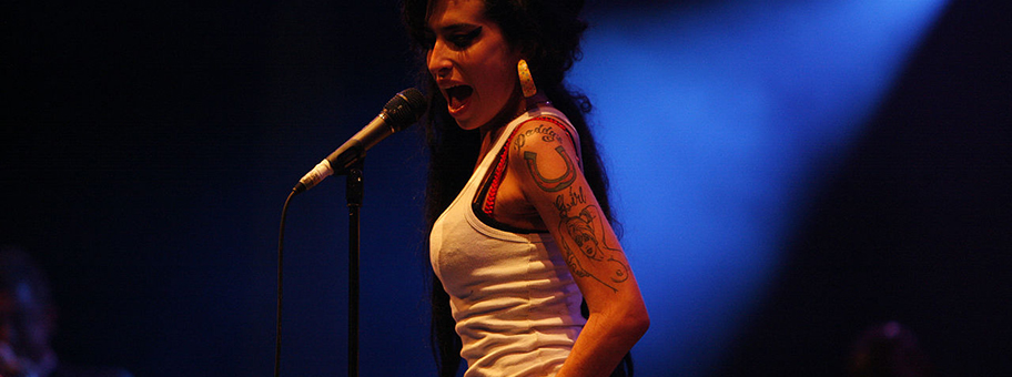 Amy Winehouse am Eurockéennes de Belfort am 29.