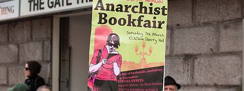 Anarchist Bookfair in Dublin 2008.