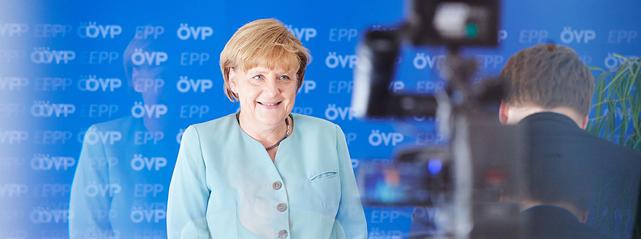 Angela Merkel am 20.