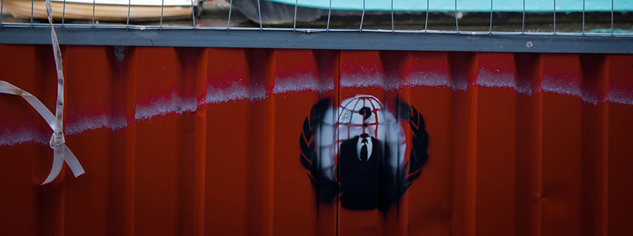 Anonymous Spray in Amsterdam.