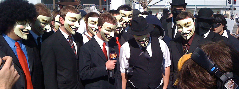 AnonymousGruppe in Los Angeles am 10.