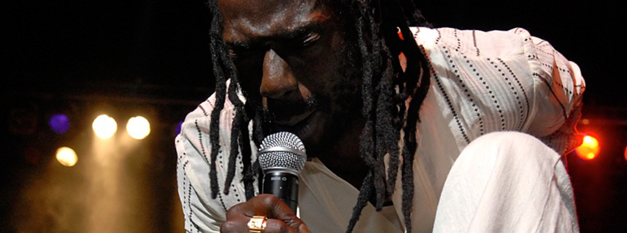 Buju Banton in New York an den 26th International Reggae & World Music Awards, 2007.