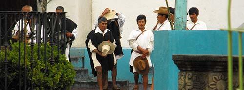 Indigene Bevölkerung in ChenalhóChiapas, Mexico.