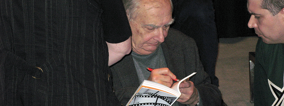 Claude Chabrol im November 2008 in Amiens (Somme, Frankreich).