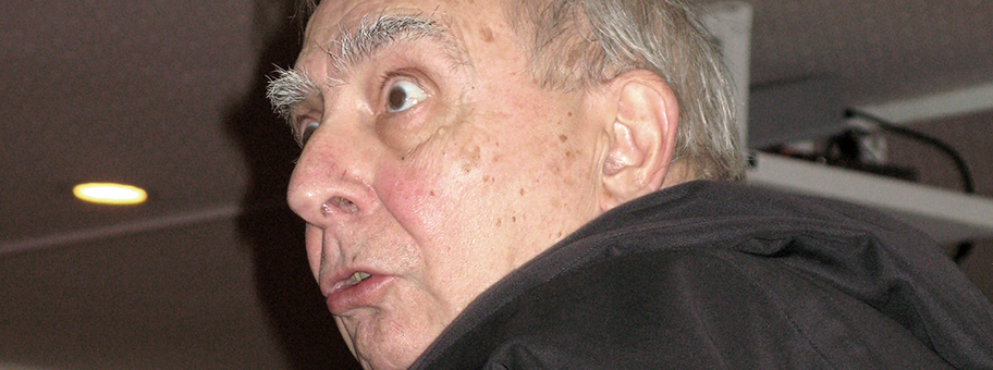 Claude Chabrol im November 2008 in Amiens.