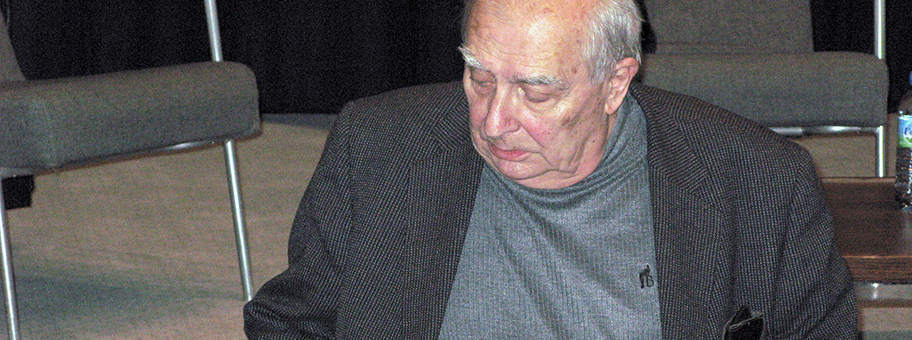 Claude Chabrol im November 2008 am 28.
