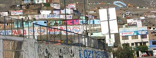 Comas, Teil der Metropolregion Lima.
