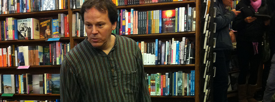 David Graeber at City Lights Books.