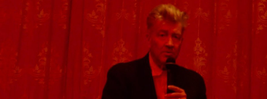 David Lynch in New York, 2009.