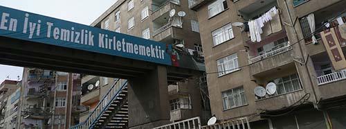 Diyarbakir ist mit über einer Million Einwohnern die zweitgrösste Stadt Südostanatoliens.