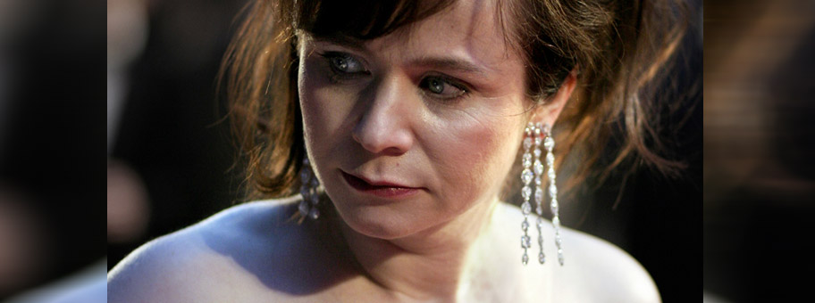 Emily Watson, hier an den Academy Film Awards in London, spielt im Film «Equilibrium» die Sinnestäterin Mary O'Brien.