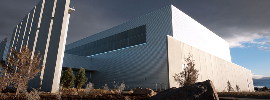 Datencenter von Facebook in Prineville, Oregon, USA.