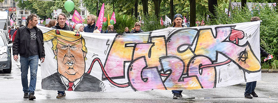 Demozug der G20Protestwelle in Hamburg, 2.