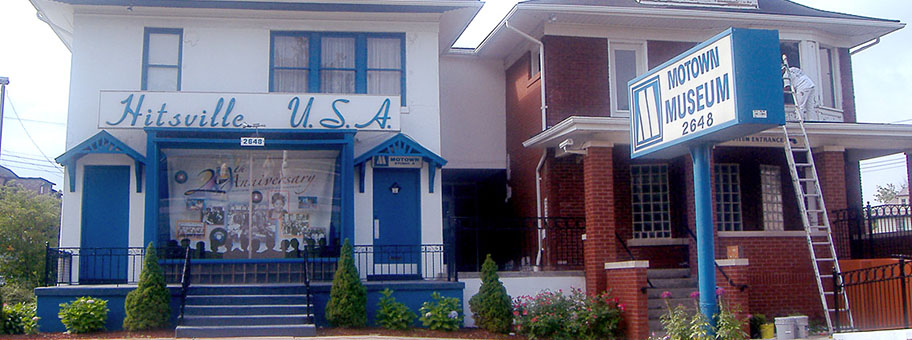 Das Motown Studio in Detroit.