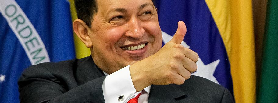 Zu den Trauerfällen, die weltweit viele Linke 2013 bewegen, gehört der Tod von Hugo Chávez am 5. - Hugo_Chavez_and_Dilma_Rousseff_in_Brasilia_2011_2_cropped_1