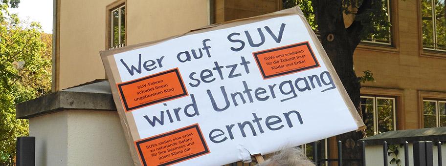 Verkehrswende Demo #aussteigen zur IAA in Frankfurt, September 2019.