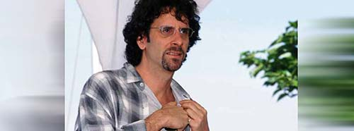 Joel Coen in Cannes, 2001.