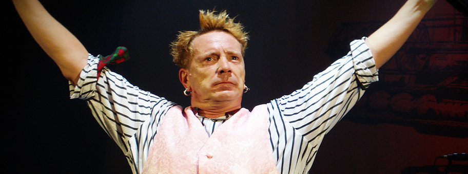John Lydon im Hammersmith Odean in London, 2008.