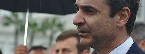 Der neue griechische Ministerpräsident Kyriakos Mitsotakis in Athen.