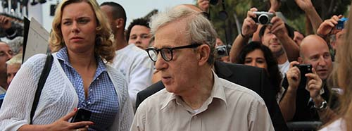Woody Allen am Festival in Cannes 2011.