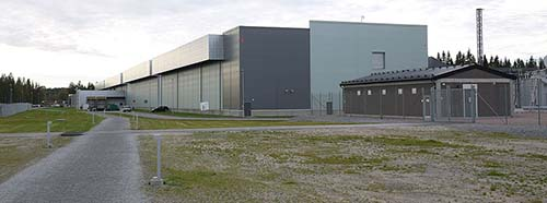 FacebookDatacenter in Luleå, Schweden.