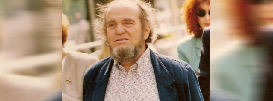 Der italienische Filmregisseur Marco Ferreri am Filmfestival von Cannes, 1991.