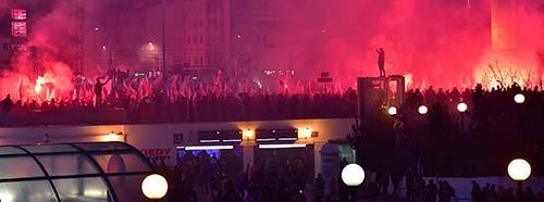 Unabhängigkeitsmarsch in Warschau, November 2018.