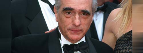 Martin Scorsese in Cannes, 2002.