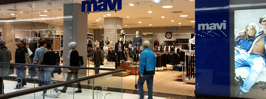 Mavi Jeans Store im LP12 Mall of Berlin.