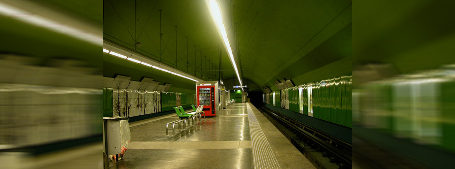 MetroStation in Marseille.