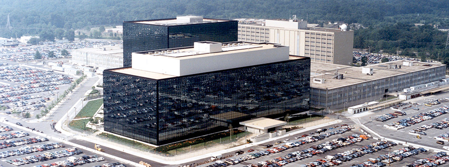 Hauptquartier der National Security Agency in Fort Meade, Maryland.