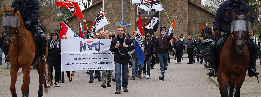 NVU Demonstration in Ede.