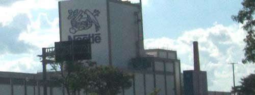 NestléFabrik in Araçatuba, Brasilien.