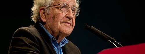 Noam Chomsky am 12.