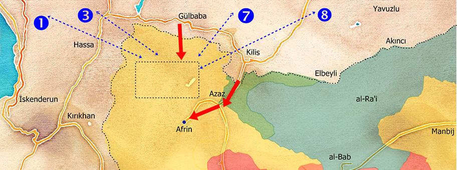 Die «Operation Olivenzweig» zielt auf die kurdische YPG.