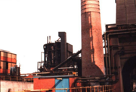 Die Orgreave Coking Plant in Sheffield.