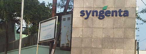 Syngenta Niederlassung in Indonesien.