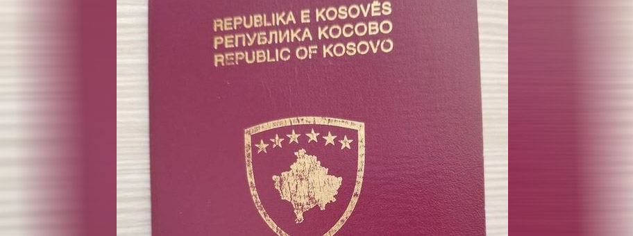 Pass der Republik Kosovo.
